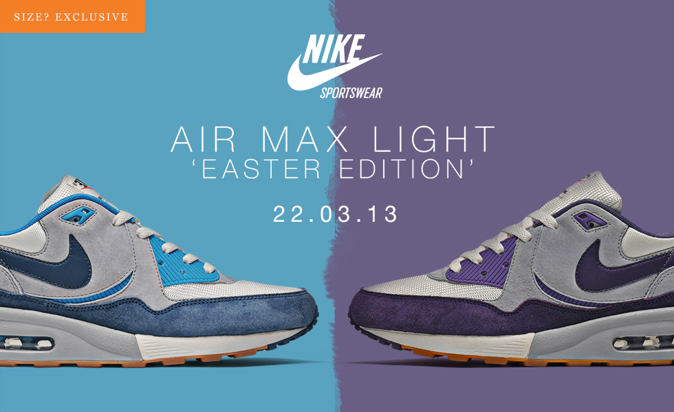 Nike Air Max Light - size  Worldwide exclusive  Easter Edition ... 94d7de1c6