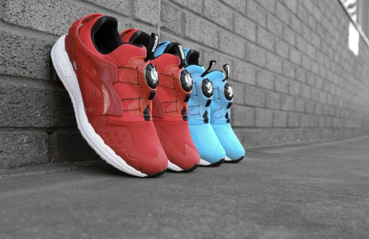 PUMA Disc Blaze Lite – Hawaiian Ocean & Fire Red