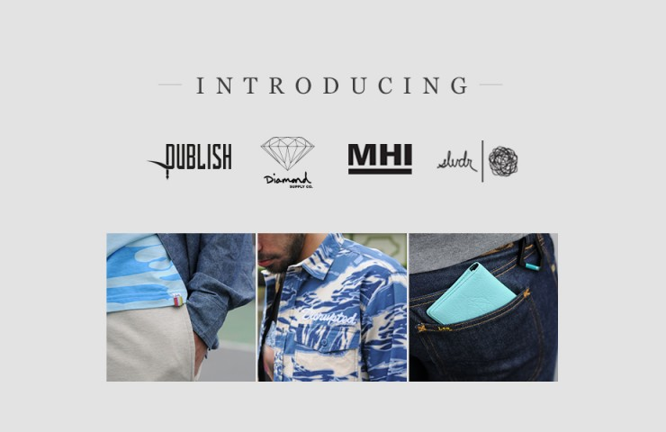 Introducing SLVDR, Publish, Diamond Supply Co. and MHI