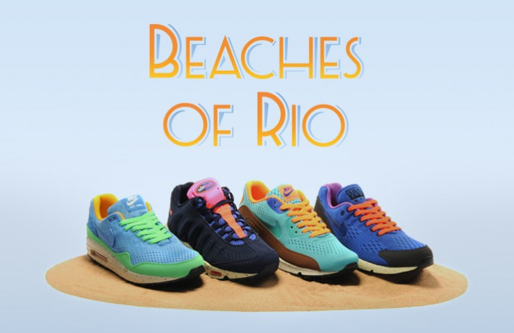 Nike Air Max Engineered Mesh 'Beaches of Rio' pack