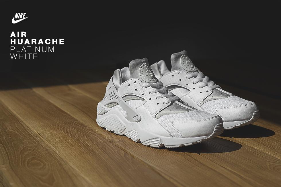 bfc696811c3cc Nike Air Huarache 'Platinum White' - size? blog