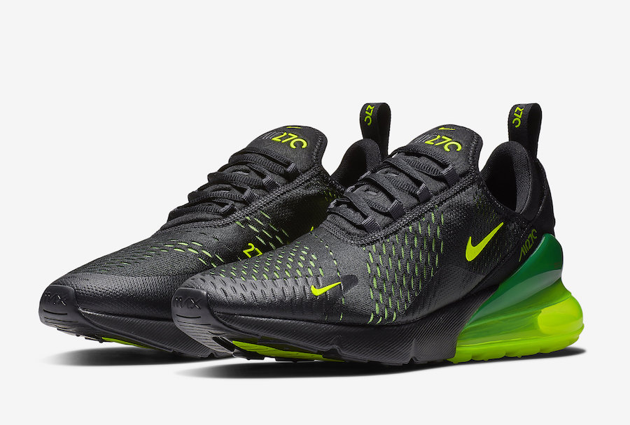 A Picture of Nike's Air Max 270 'Volt'