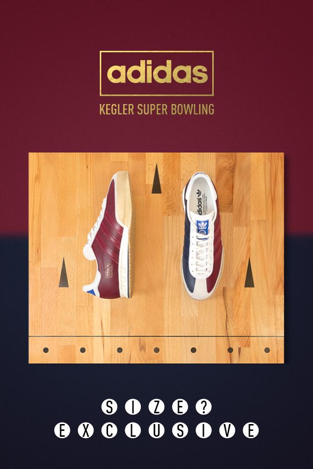 adidas Originals Archive Kegler Super  Bowling  – size  Exclusive 11e86083c3