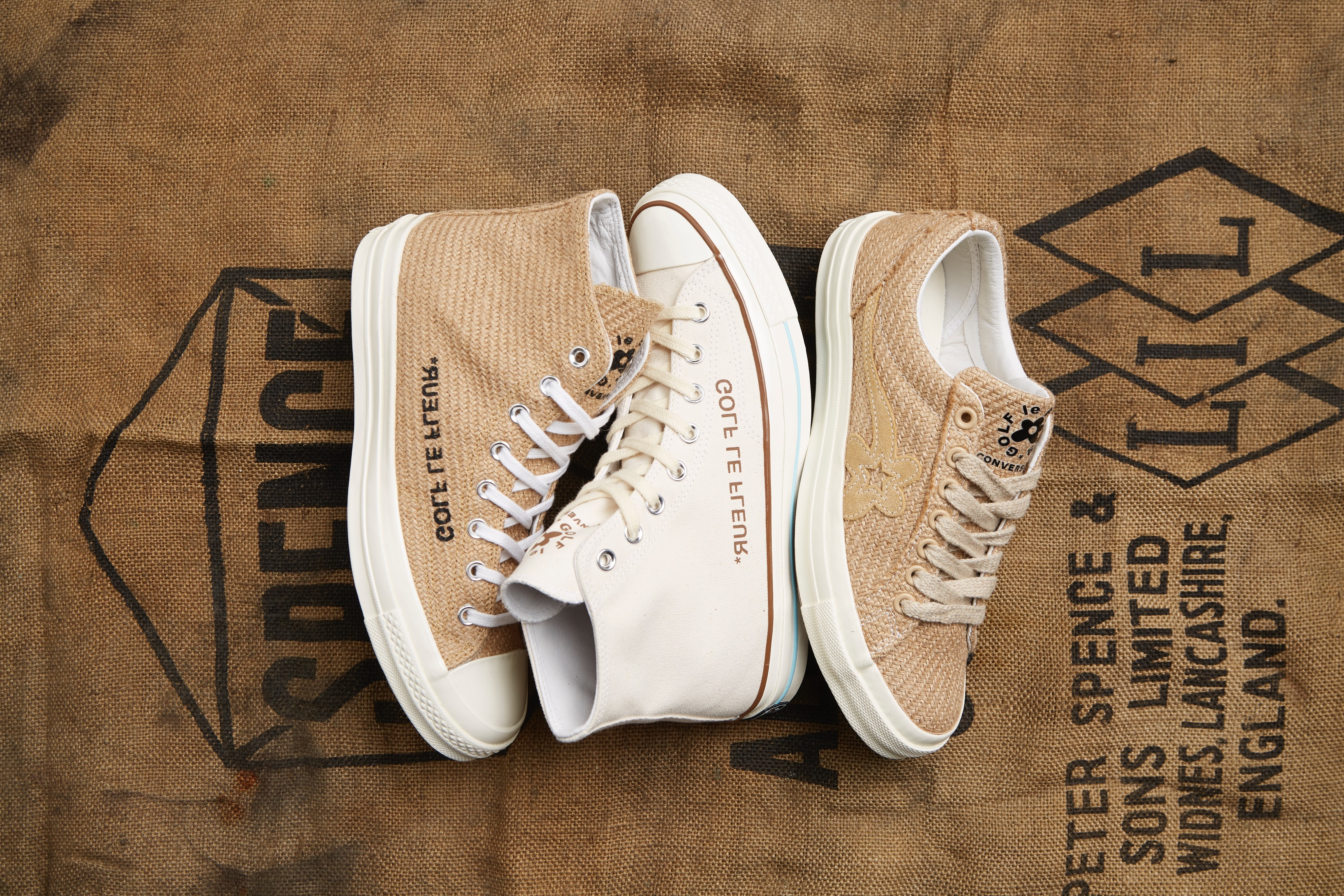 A Picture of The Converse Burlap Pack