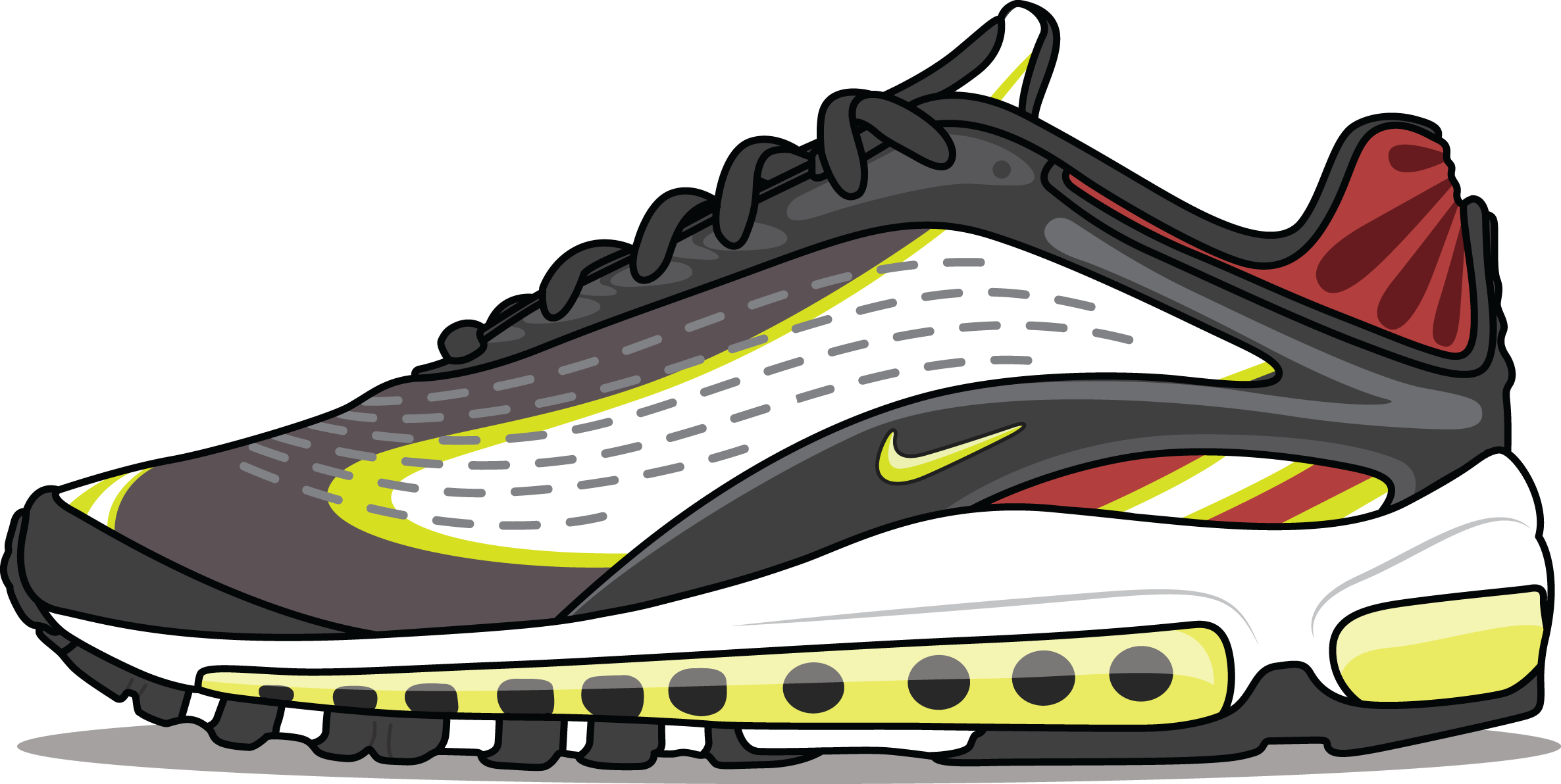 A Picture of Nike's Air Max Deluxe