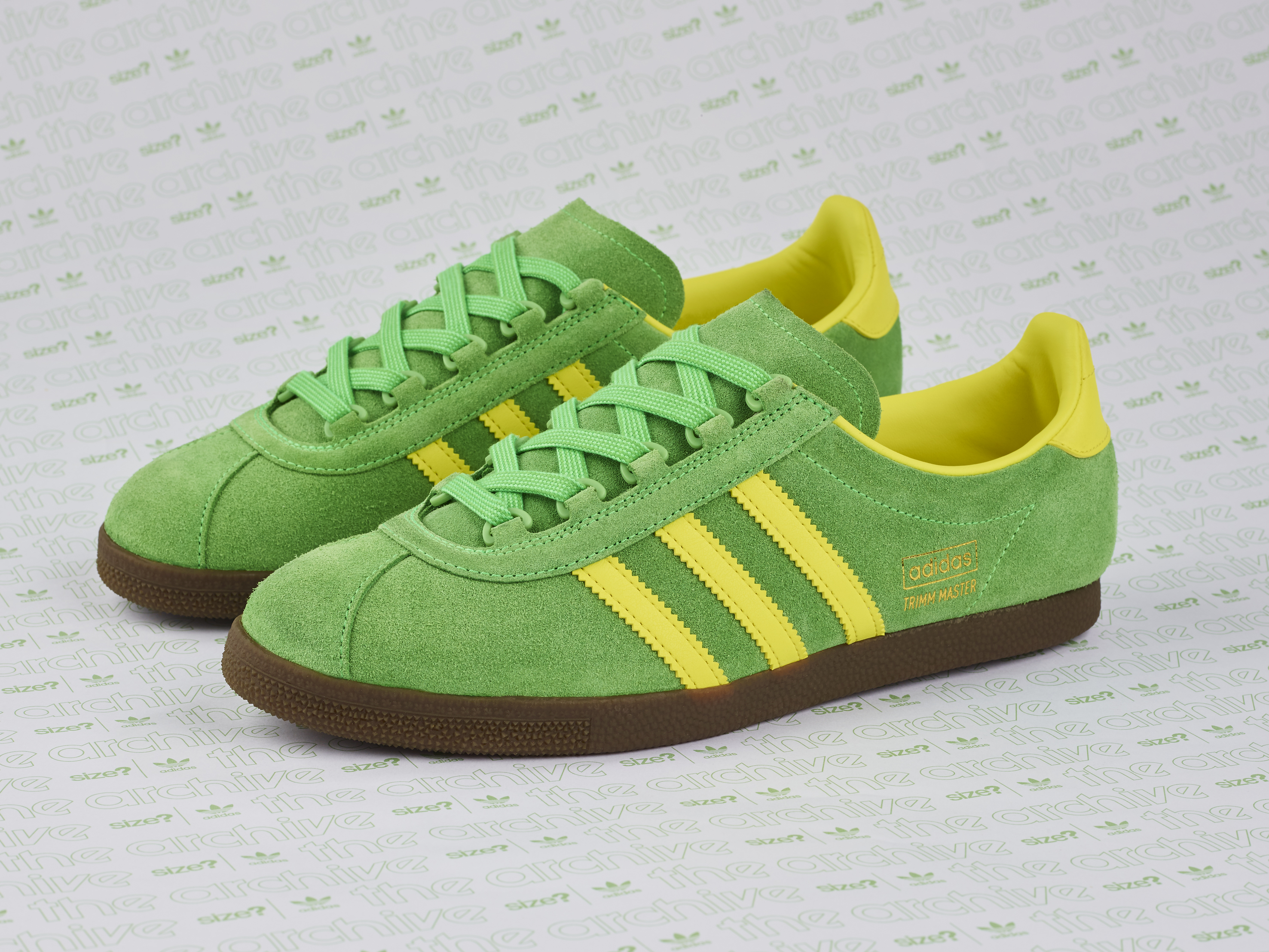 adidas Originals Archive Trimm Master OG Lime Yellow – size  Exclusive 9bc0408fbe