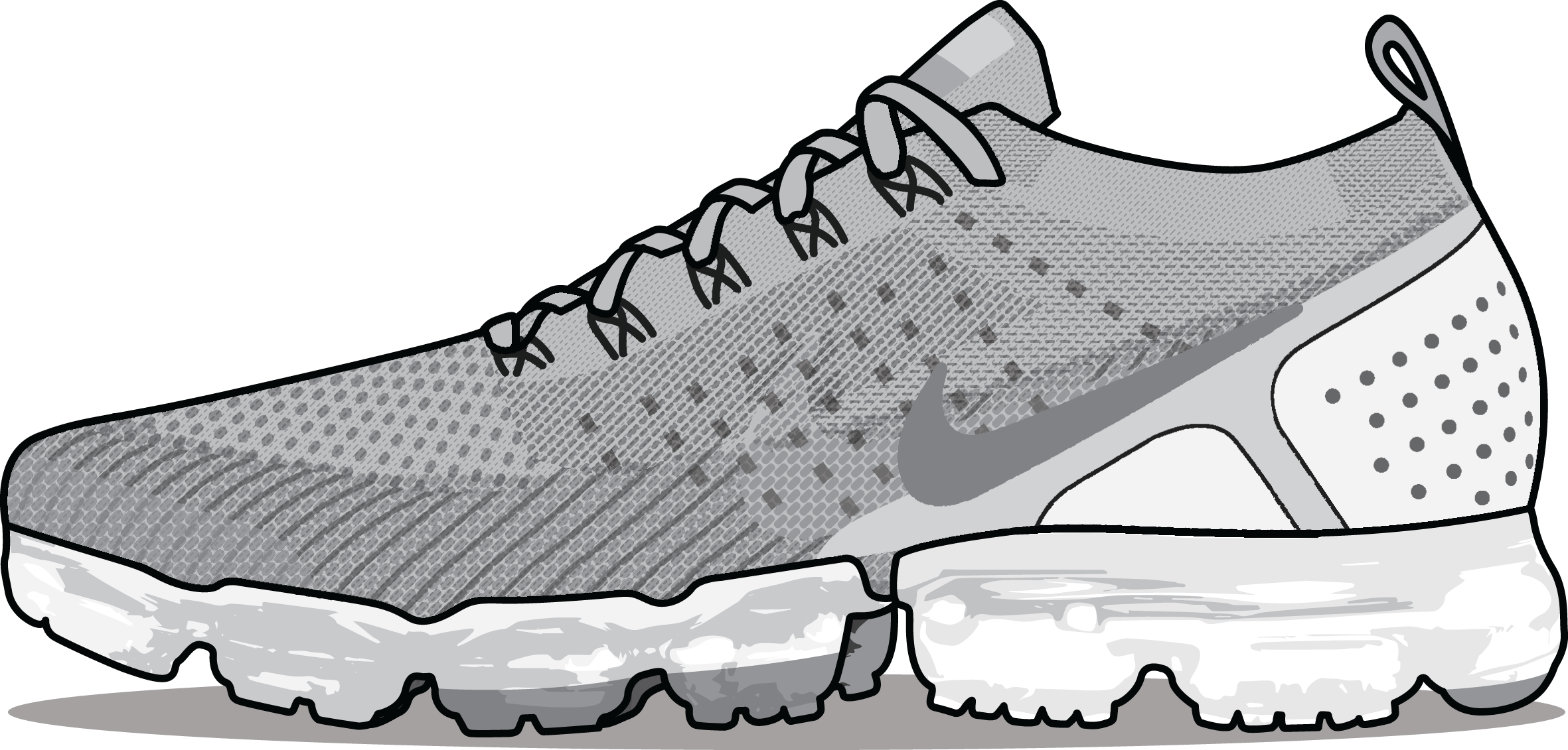 Nike Air VaporMax Lizard 'Wolf Grey' 'Pure Platinum'