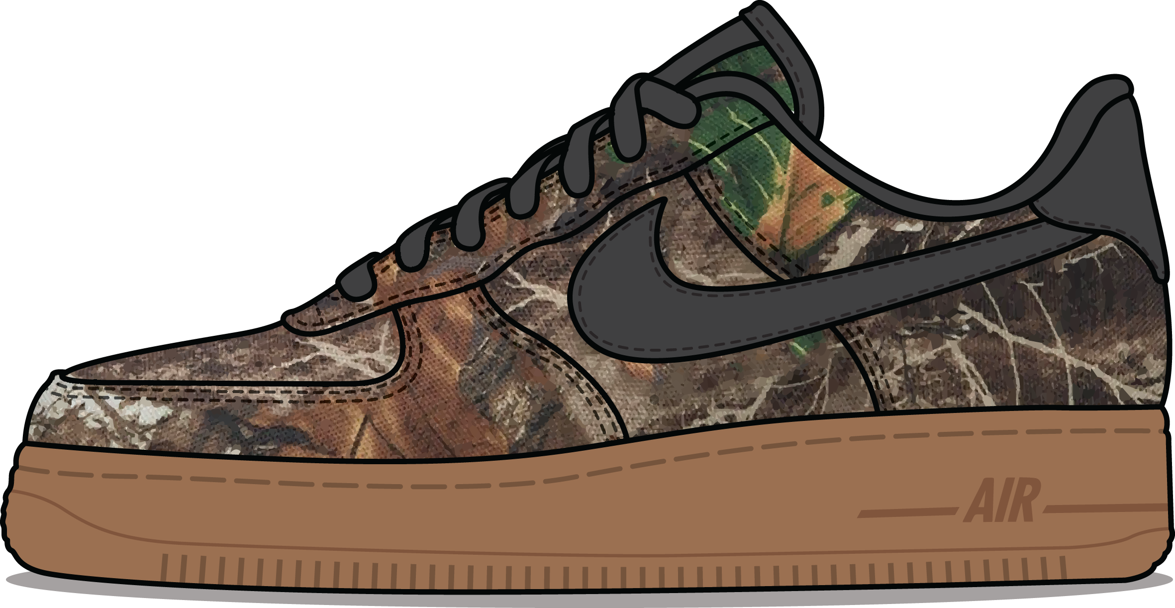 Nike Air Force 1 'Realtree' Camouflage Pack