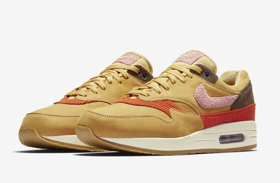 Air Max 1 Wheat Gold