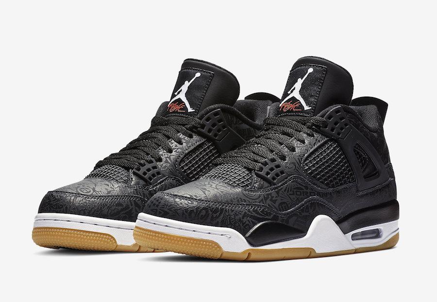Air Jordan IV 'Black Laser'