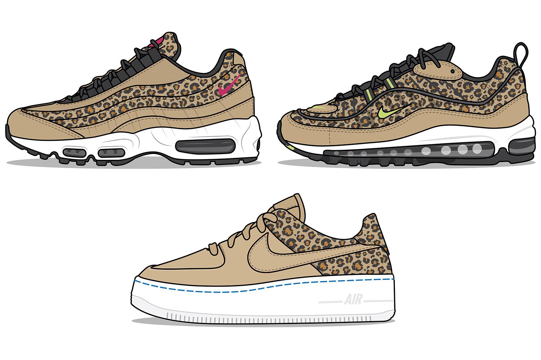 Nike 'Leopard Print' Pack