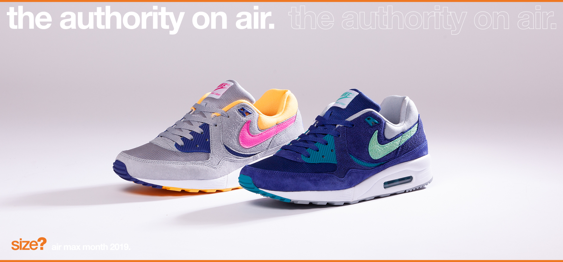 the authority on air: Air Max Light 'Cement'