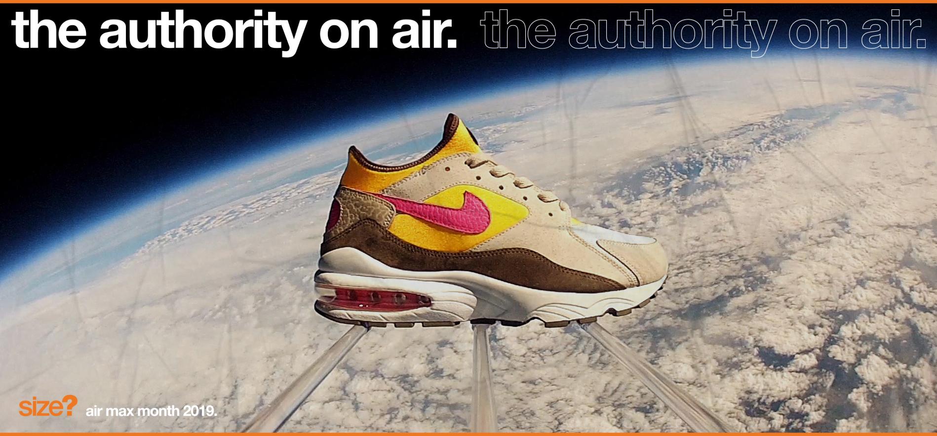the authority on air: Air Max 93 'Maximum Air'