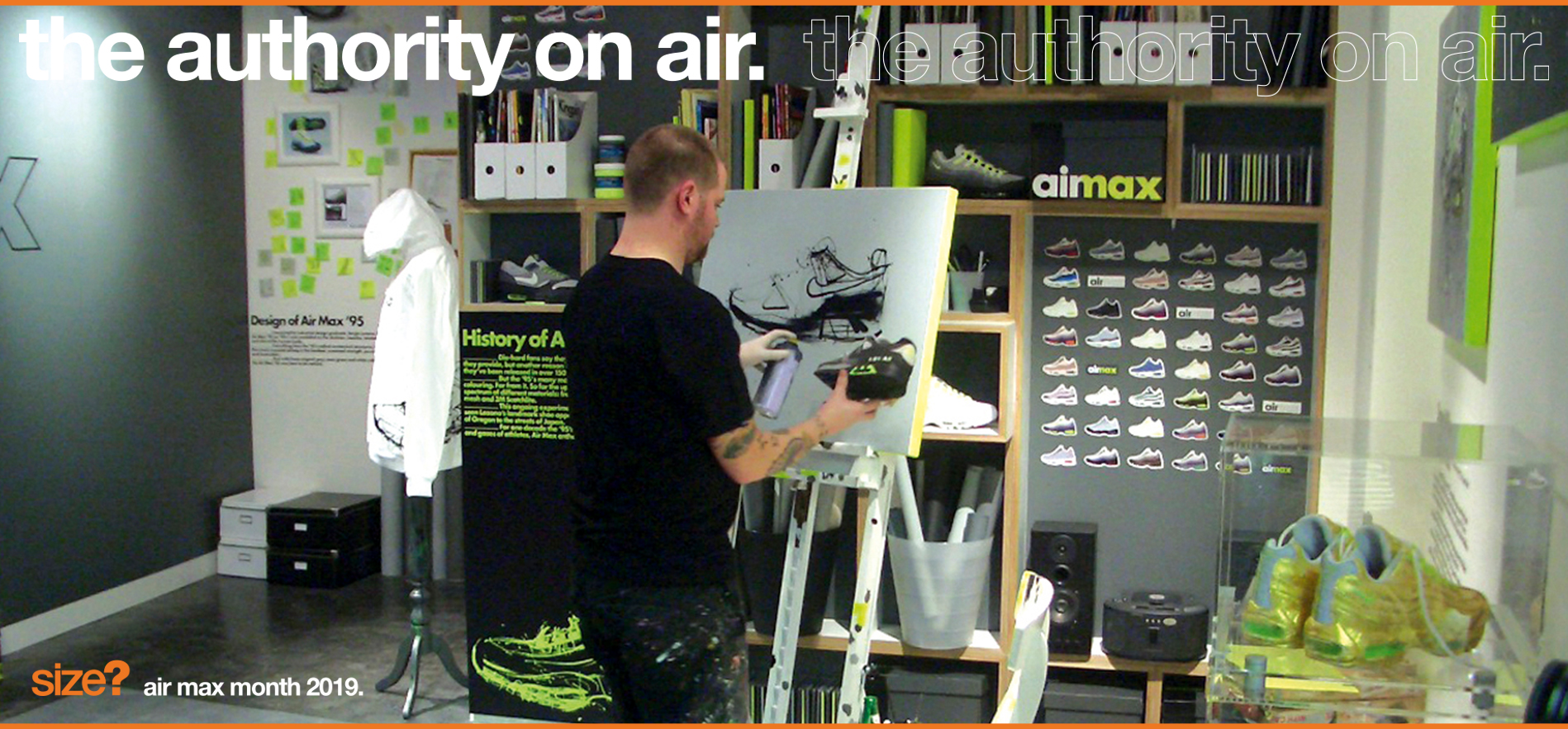 The Authority on Air: Dave White 'Wet Paint' Pack