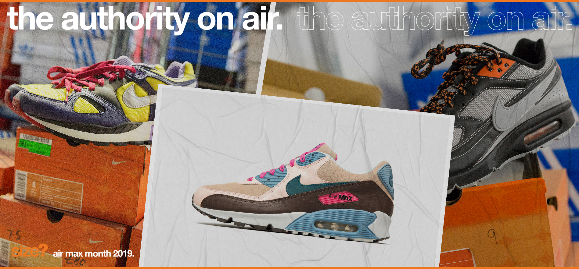 the authority on air – size? exclusive 'Clerks' pack