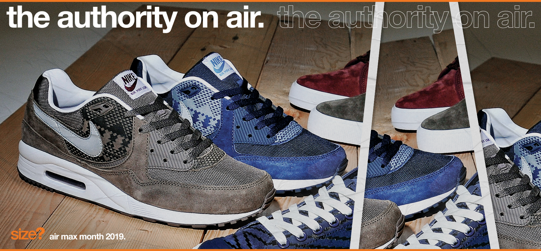 the authority on air – Air Max Light 'Geometric'