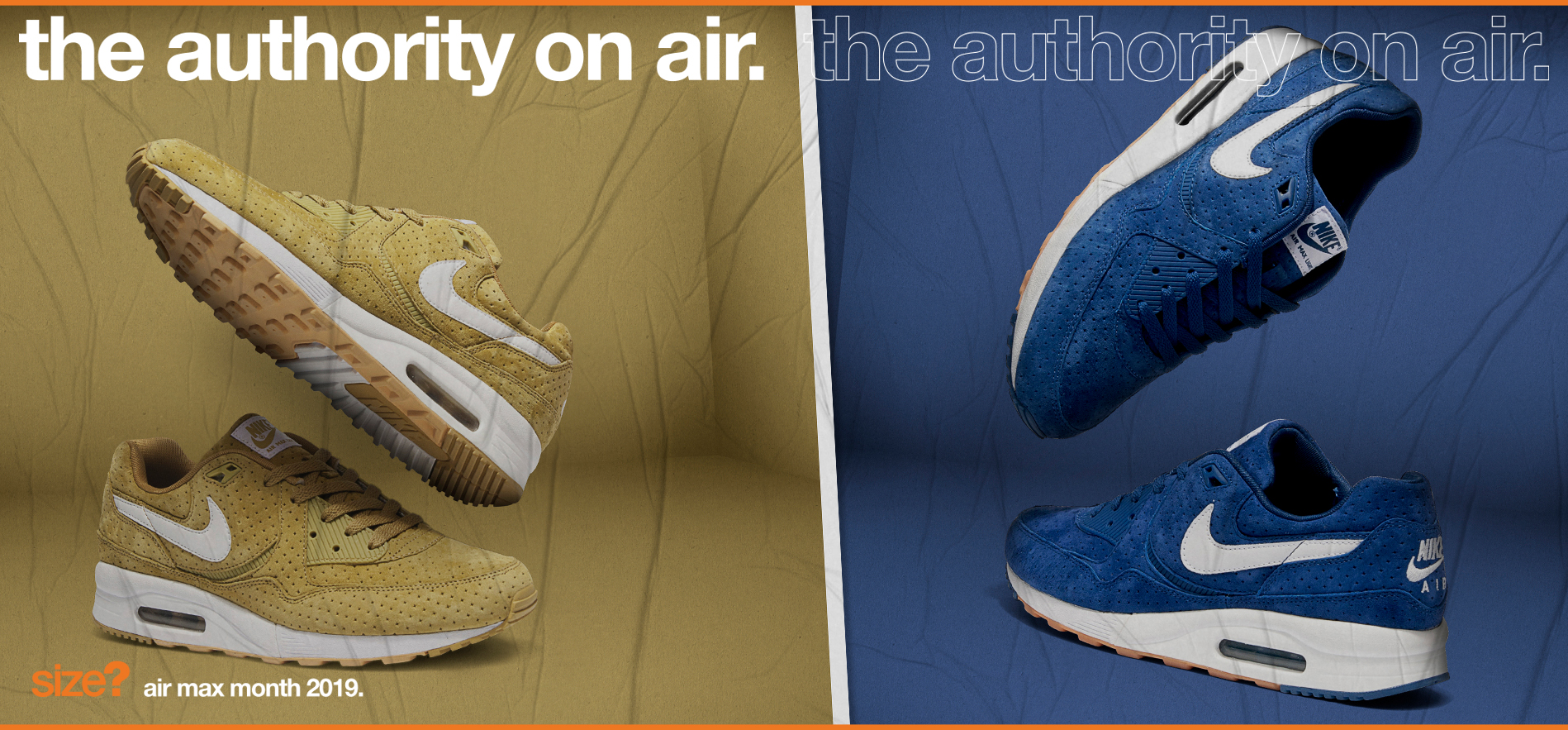 the authority on air –  Air Max Light 'Perforated'