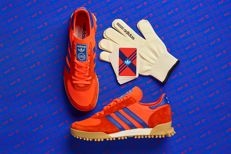 adidas Originals Archive Marathon TR – size? Exclusive 'Red/Blue'