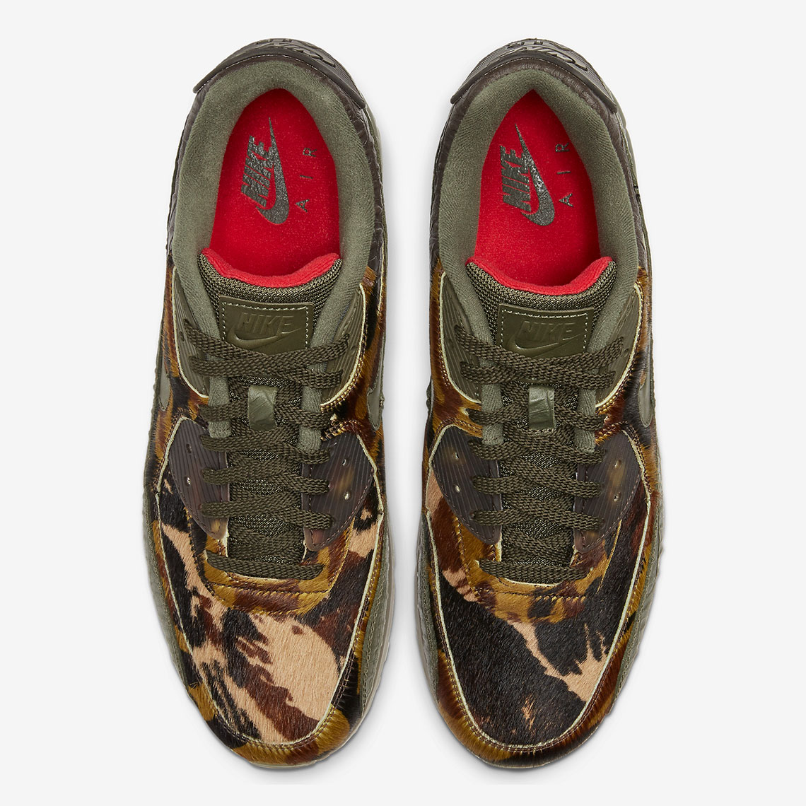 Air Max 90 Camo Croc Top of shoe